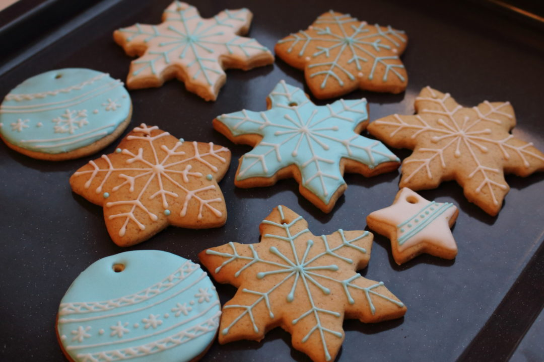 Цветная глазурь для печенья рецепт с фото