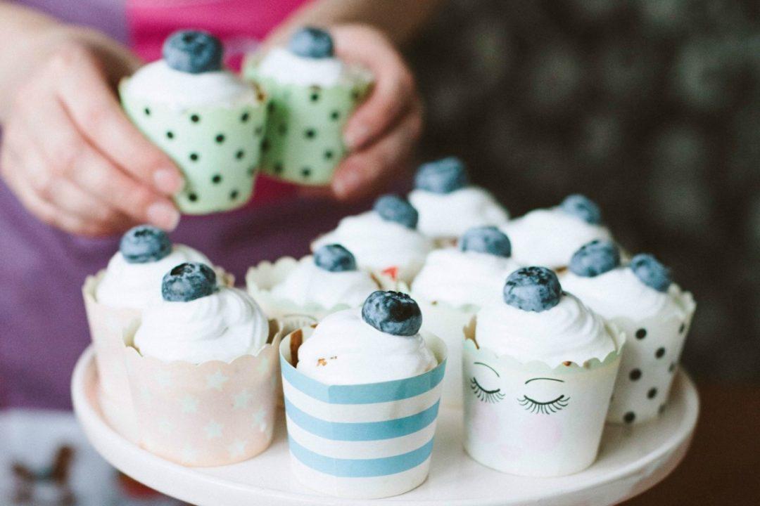 Капкейки для вечеринки: простой рецепт и фото