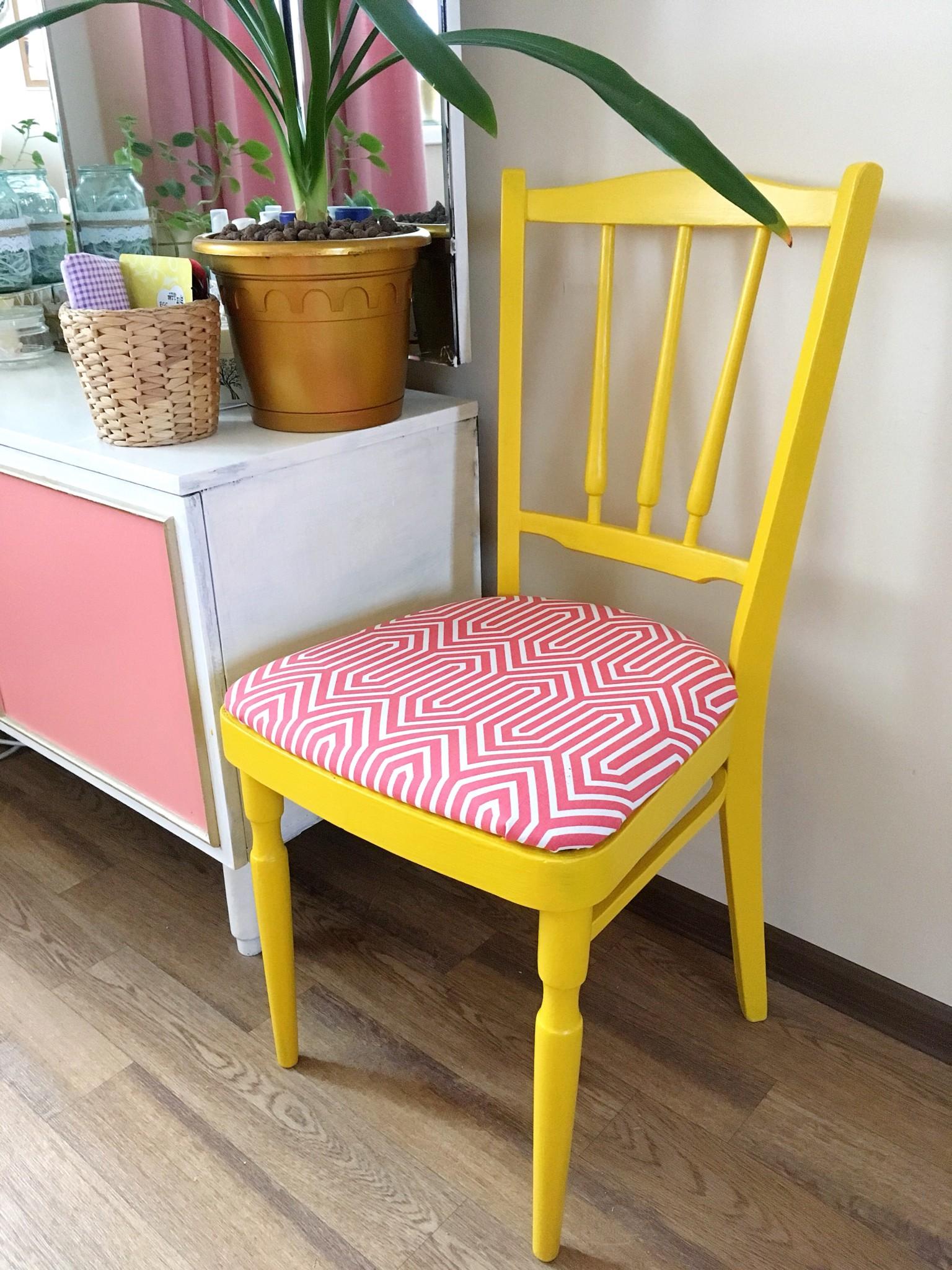 Реставрация старого стула своими руками фото до и после 78