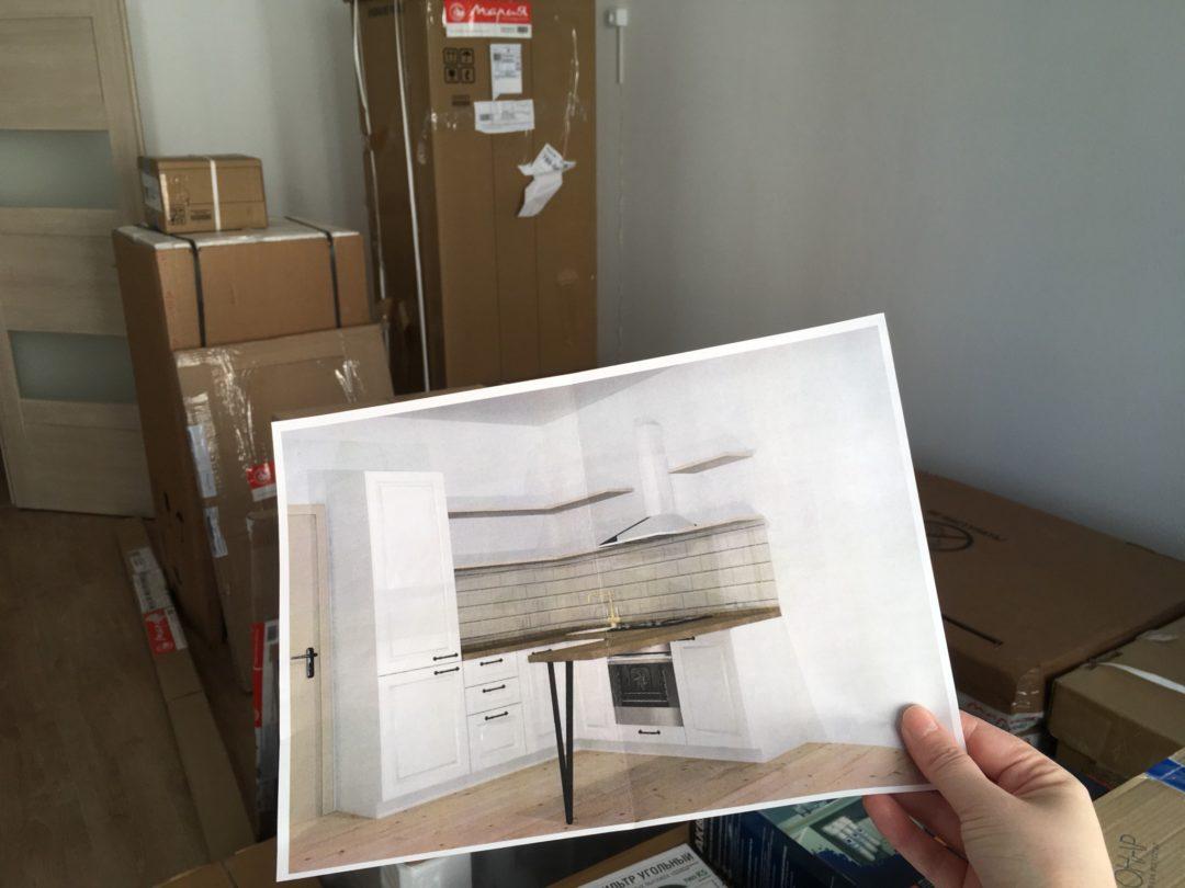 Дизайн кухни в квартире-студии | Блог Варвары Лялягиной «Дом, в который хочется приходить»