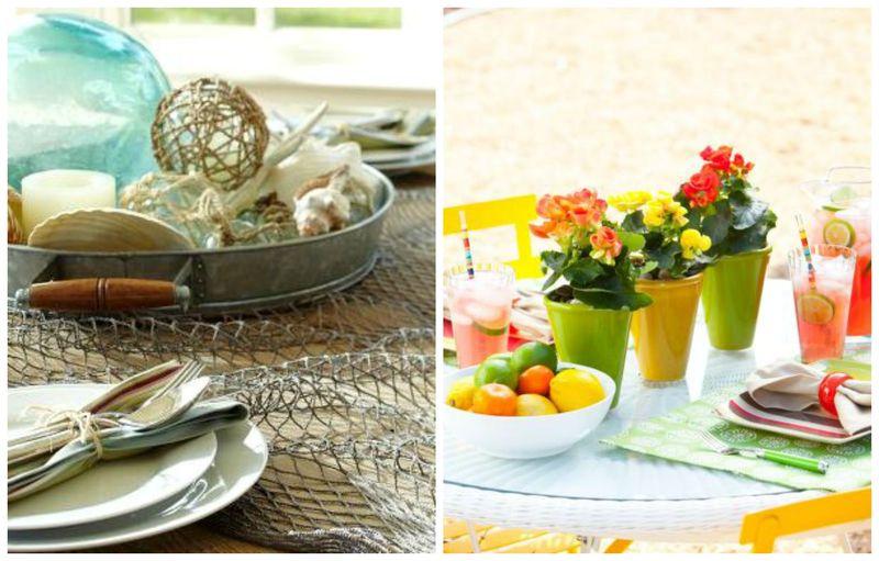 Секреты, которые помогут вам декорировать обеденный стол (2)