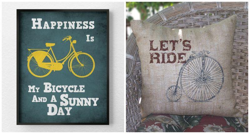 велосипед в интерьере (7)