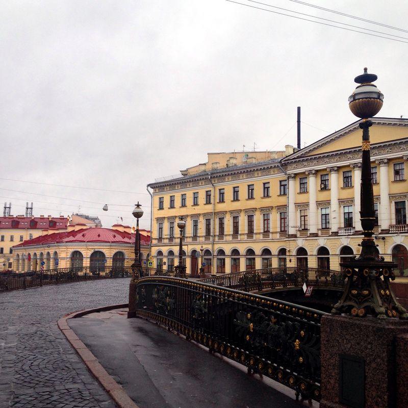 Петербург в декабре. Мойка | Блог Дом, в который хочется приходить