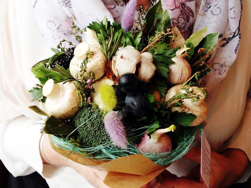 Овощной букет | Блог Дом, в который хочется приходить