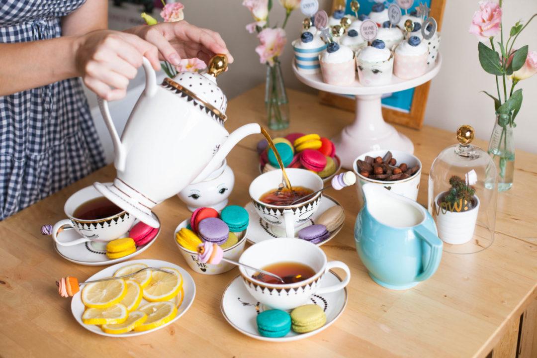 Домашняя чайная вечеринка