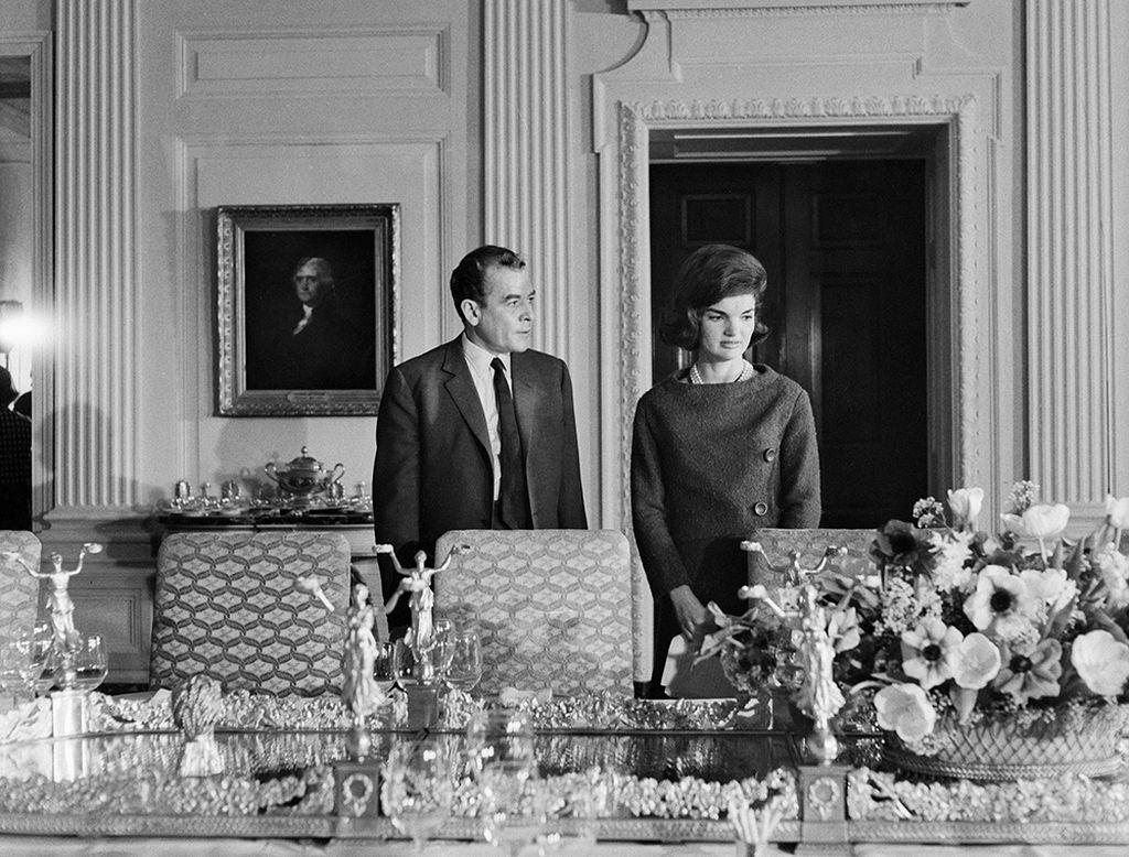 Экскурсия Жаклин Кеннеди по Белому Дому | Блог Варвары Лялягиной «Дом, в который хочется приходить»