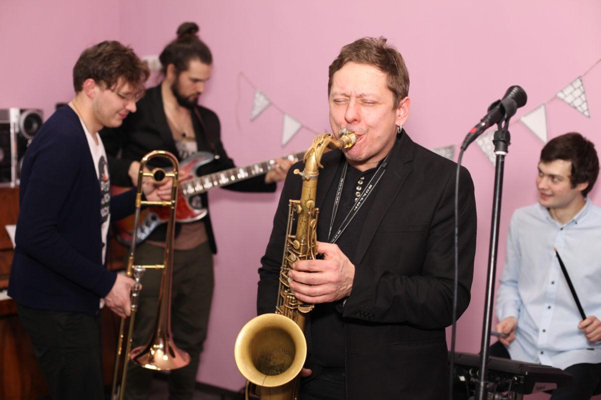 Вечеринка в стиле джаз