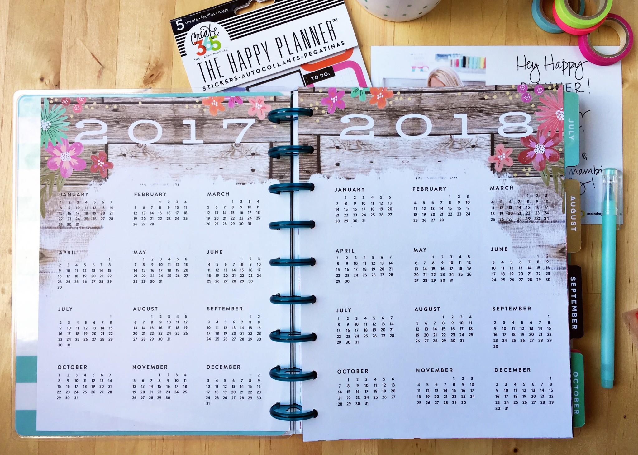 Happy Planner. Красивый ежедневник для девочек | Блог Варвары Лялягиной «Дом, в который хочется приходить»