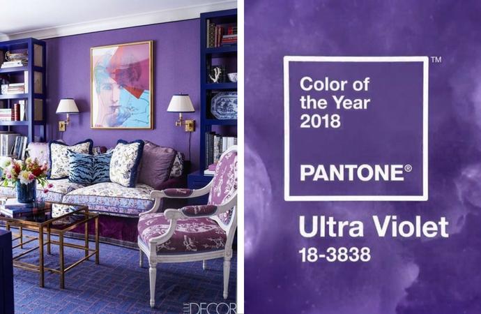 Цвет года Pantone 2018 в интерьере. Комментарии дизайнеров