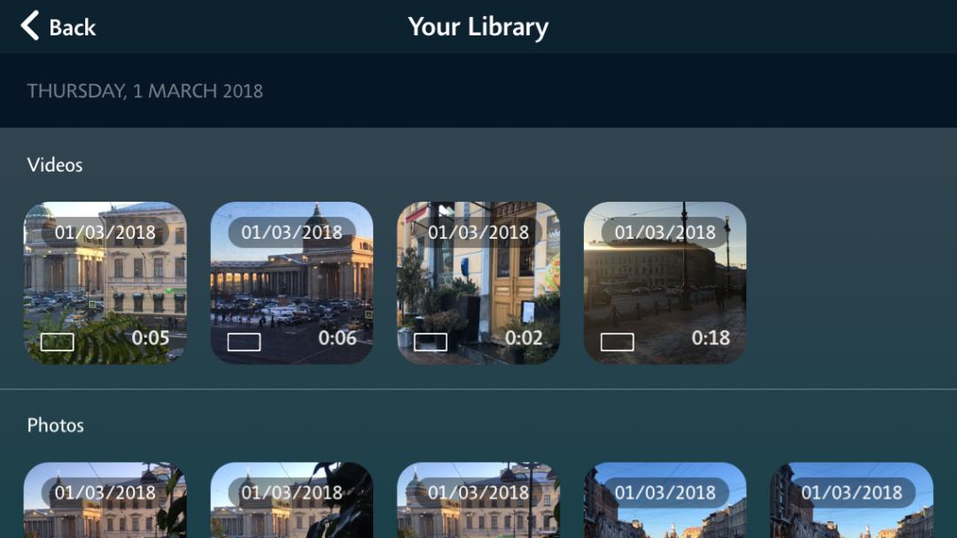 1 секунда каждый день. Мобильное приложение для хранения воспоминаний | Блог Варвары Лялягиной «Дом, в который хочется приходить»