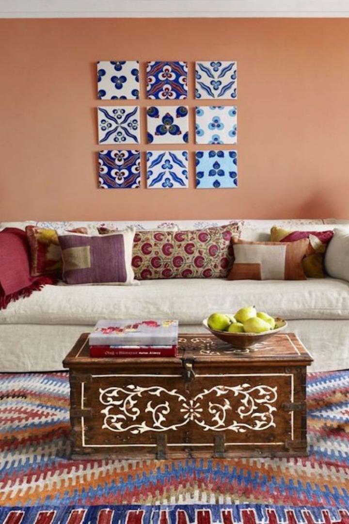 Цвет года Pantone 2019 живой коралл в интерьере. Комментарии интерьерных дизайнеров | Блог Варвары Лялягиной «Дом, в который хочется приходить»