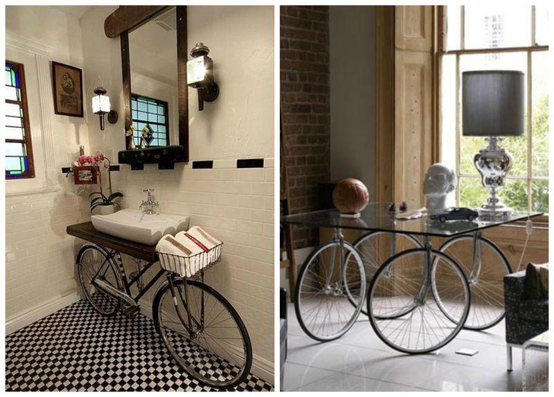 велосипед в интерьере (3)