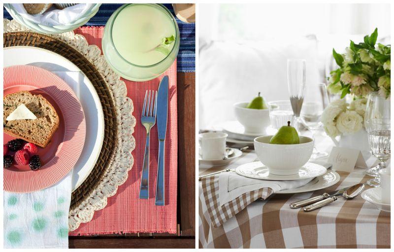 Секреты, которые помогут вам декорировать обеденный стол (4)
