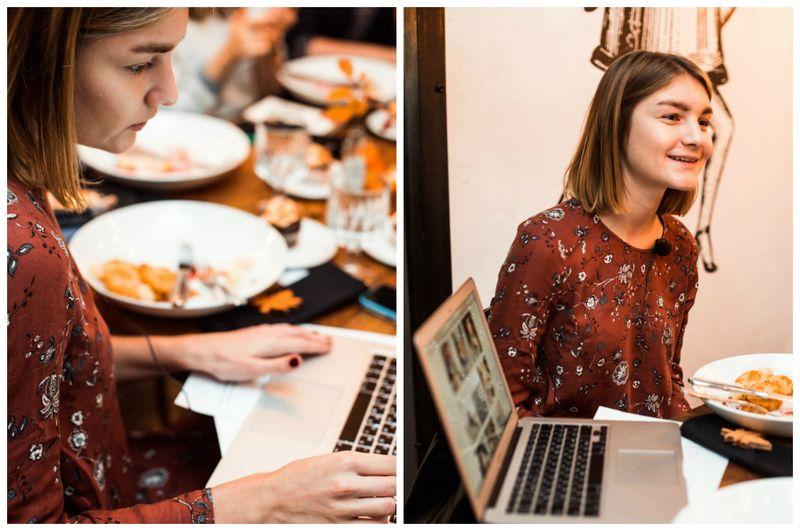 Blog Brunch. Продвижение творческого проекта в инстаграм. Мероприятие для блоггеров и творческих предпринимателей в Петербурге. Анастасия Нестеренко