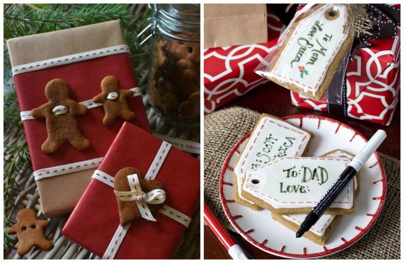 12 идей декорирования имбирными пряниками. Украшение подарков | Блог Дом, в который хочется приходить