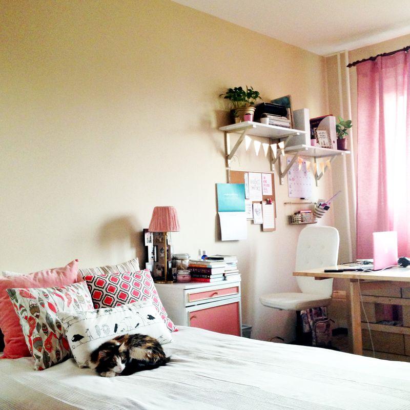 Дом, в который хочется приходить. Комната в розовой гамме